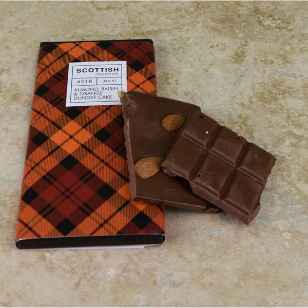 Dundee Cake Milk Chocolate Bar - 3.5 oz.