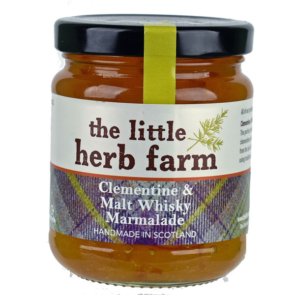 SALE Clementine & Malt Whisky Marmalade - 8 oz. jar