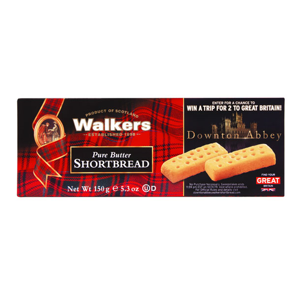Walkers Shortbread Fingers in Downton Abbey Box - 5.3 oz.