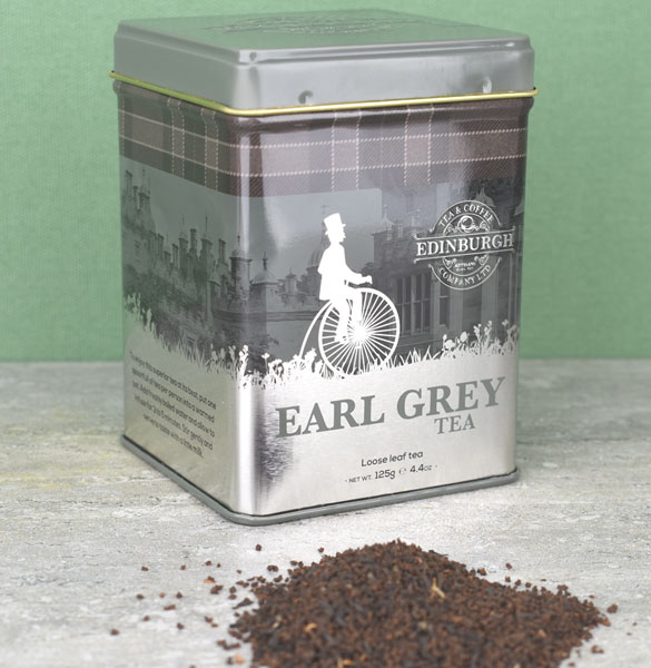 Earl Grey Tea Caddy - 4.4 oz Loose Tea