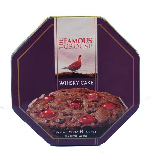 Famous Grouse Whisky Cake