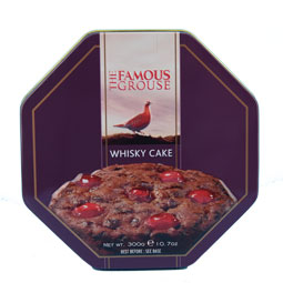 Famous Grouse Whisky Cake