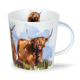 Highland Cow Mug from Dunoon