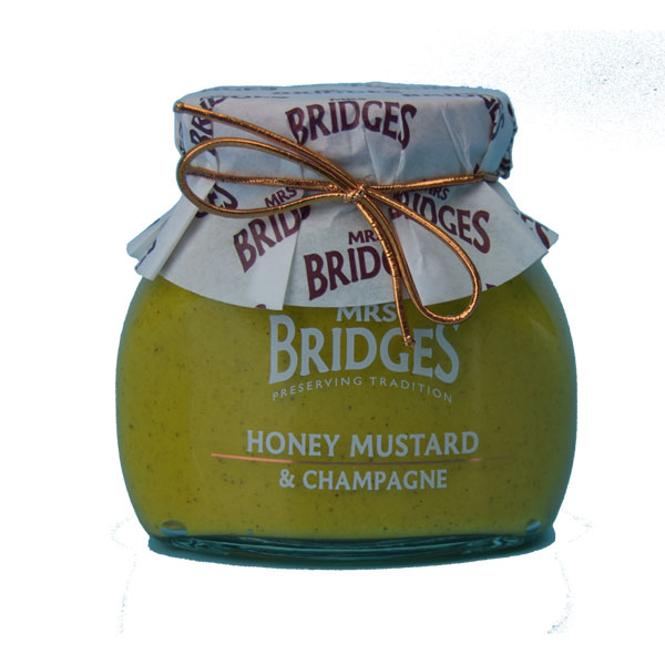 Mrs Bridges Honey Mustard with Champagne