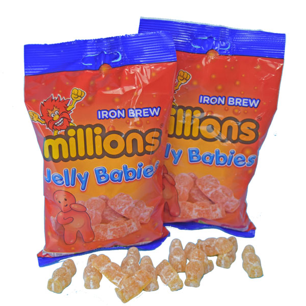 SOLD OUT Iron Brew Jelly Babies - Two 7 oz. bags