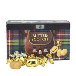 Butterscotch in Kilted Box