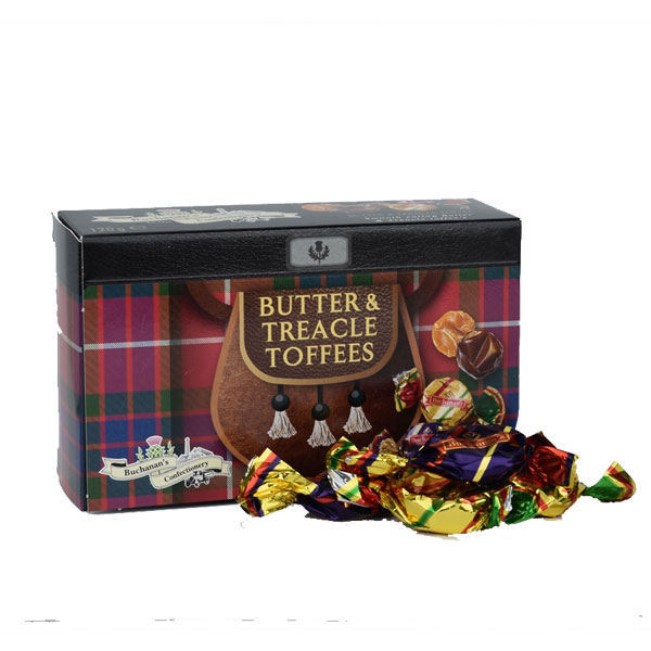 SALE Butter & Treacle Toffee in Kilted Box