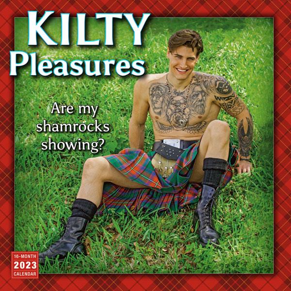 Kilty Pleasures 2021 Wall Calendar