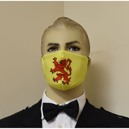 Lion Rampant Face Mask