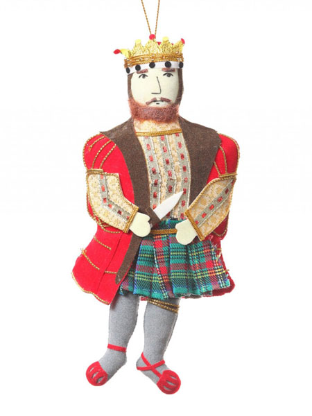 "MacBeth Ornament - 7"" tall"