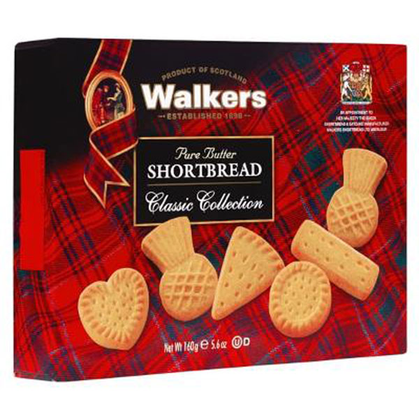 Assorted Shortbread Shapes from Walkers
