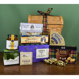 Scottish Comforts Basket 2021