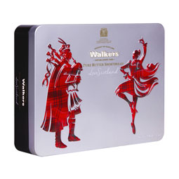 Iconic Piper and Dancer Shortbread Tin -5.3 oz.