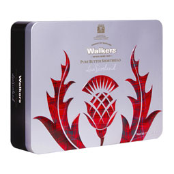 Iconic Scottish Thistle Shortbread Tin -5.3 oz.