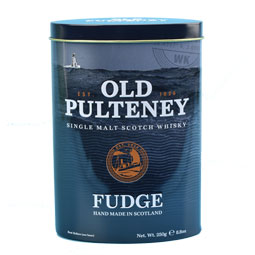 Old Pulteney Whisky Fudge Tin