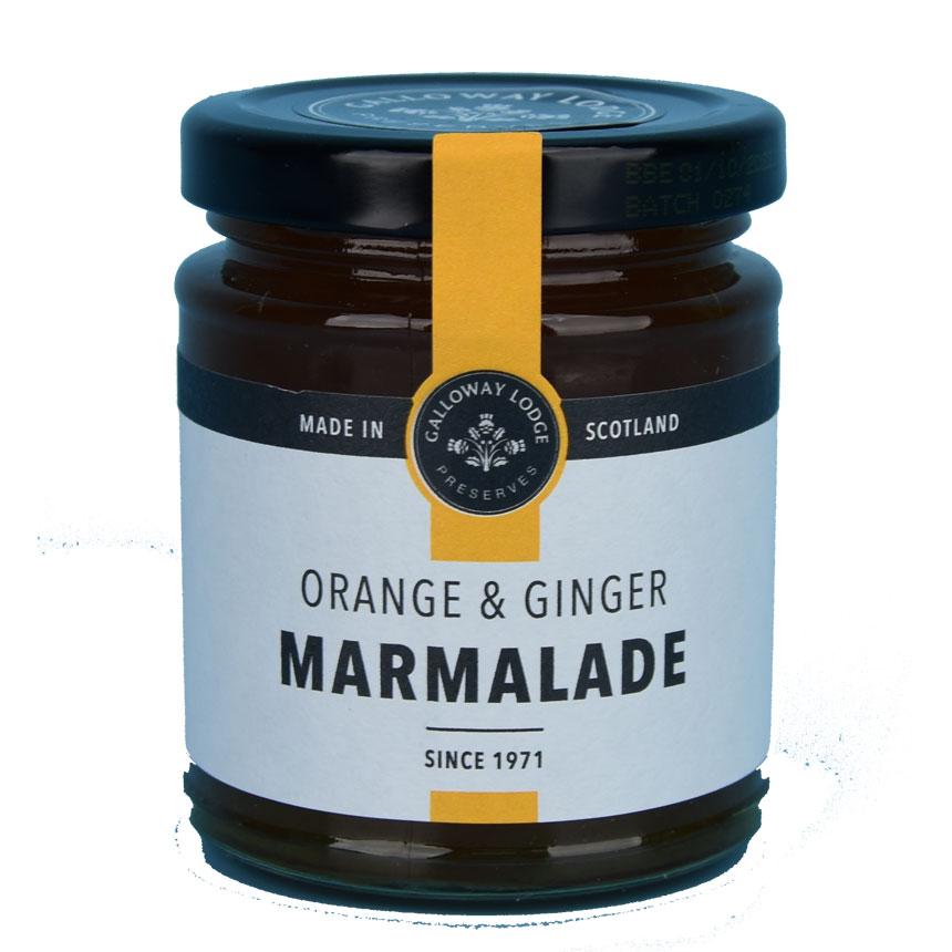 Orange & Ginger Marmalade - New 9 oz. round jar