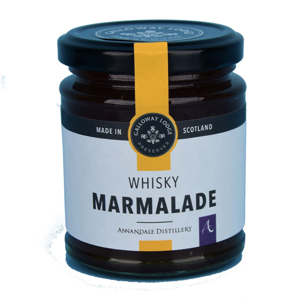 Marmalade with Annandale Malt Whisky - New 9 oz. round jar