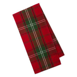 Vintage Plaid Teatowel
