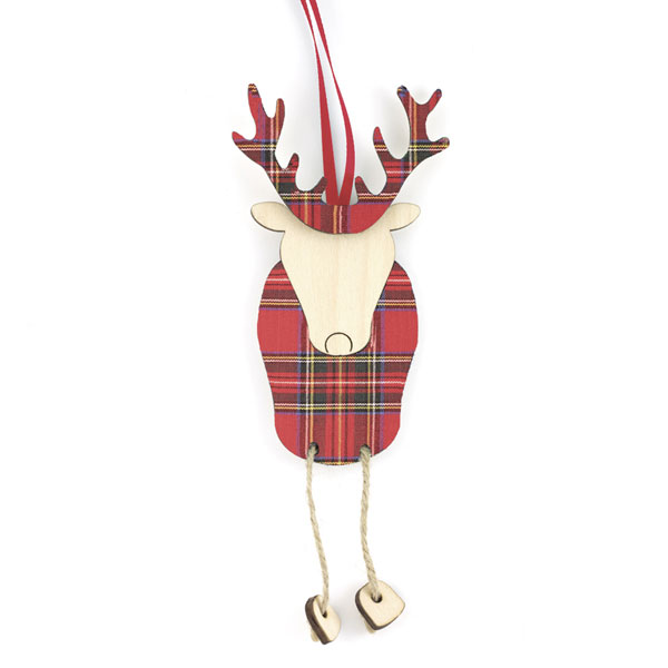 Ronnie the Reindeer Ornament