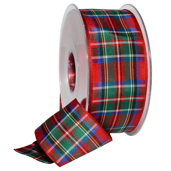 SALE Royal Stewart Tartan Ribbon