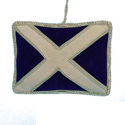 Saltire Flag Felt Ornament