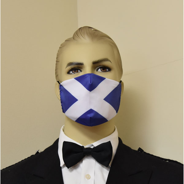 Saltire Face Mask