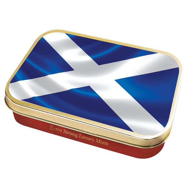 Saltire Flag Mint Tin from Stewarts