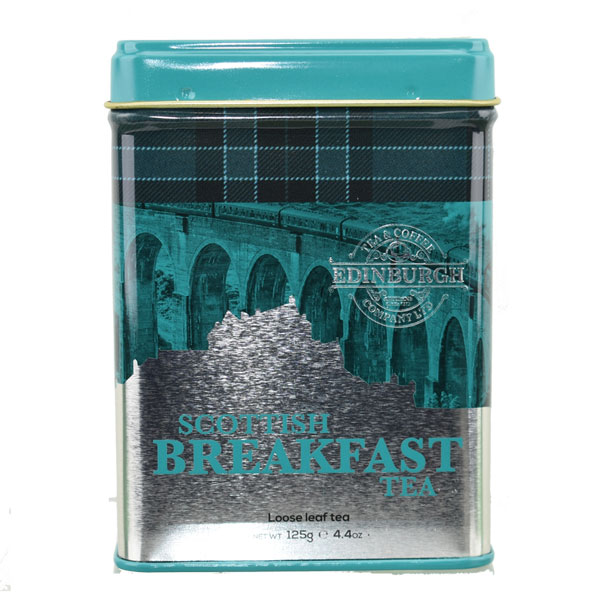 Scottish Breakfast Tea Caddy