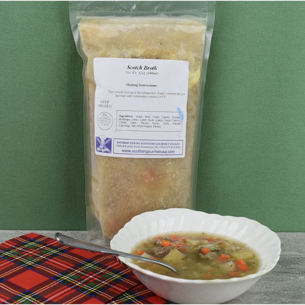 Scotch Broth with Lamb - 32 oz. Pouch