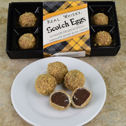 Scotch Eggs Whisky Truffles