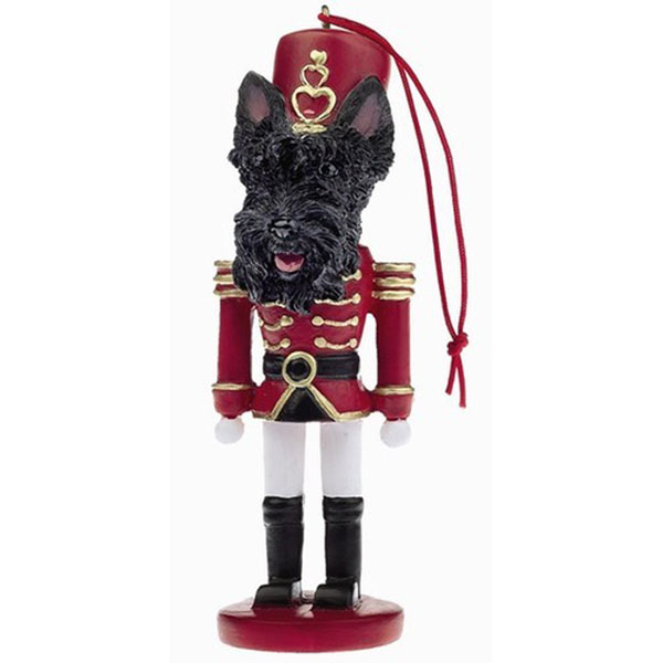 "Scottie Piper Nutcracker 14"" tall"