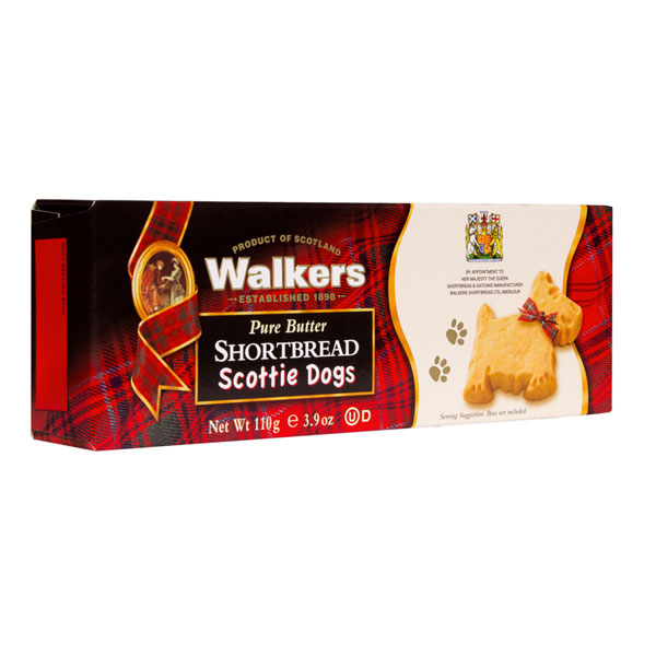 Scottie Dog Shortbread Cookies from Walkers