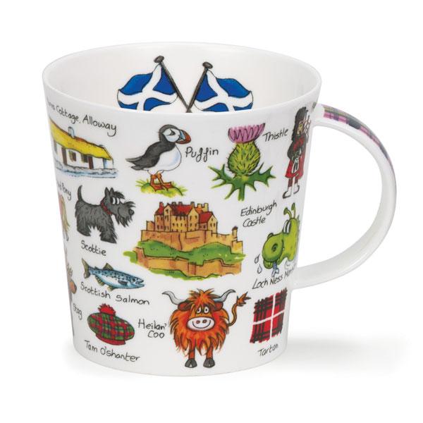 Simply Scotland Dunoon Mug