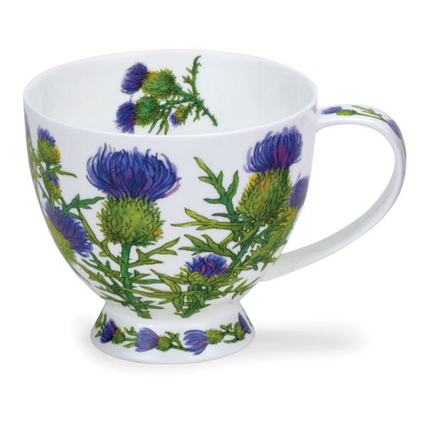NEW! Skye Thistle Mug from Dunoon Pottery