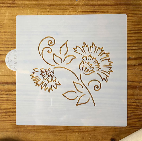 Thistle Craft and Cookie Stencil