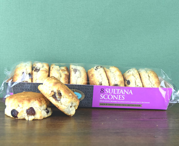 Sultana Scones - set of eight