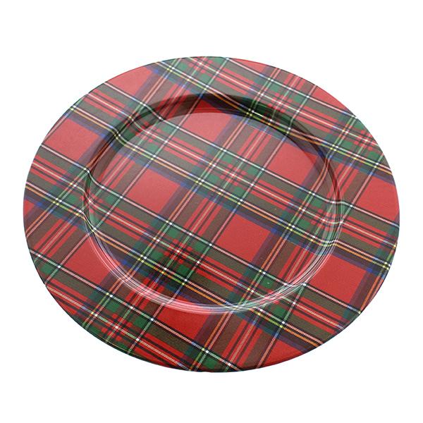 """Royal Stewart Metal Charger -13"""" diameter"""