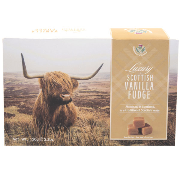 Vanilla Fudge in a Highland Cow Box