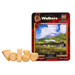 Walkers Glenfinnan Viaduct Shortbread Tin