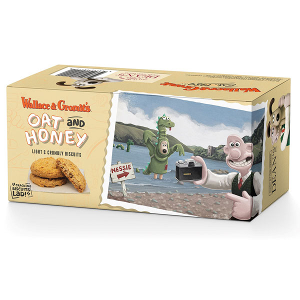 Wallace & Gromit Oat & Honey Biscuits from Deans