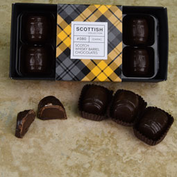 Whisky Barrels - eight truffles