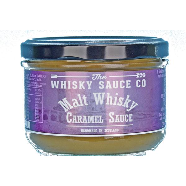 Malt Whisky Caramel Sauce - 8.8 oz. jar