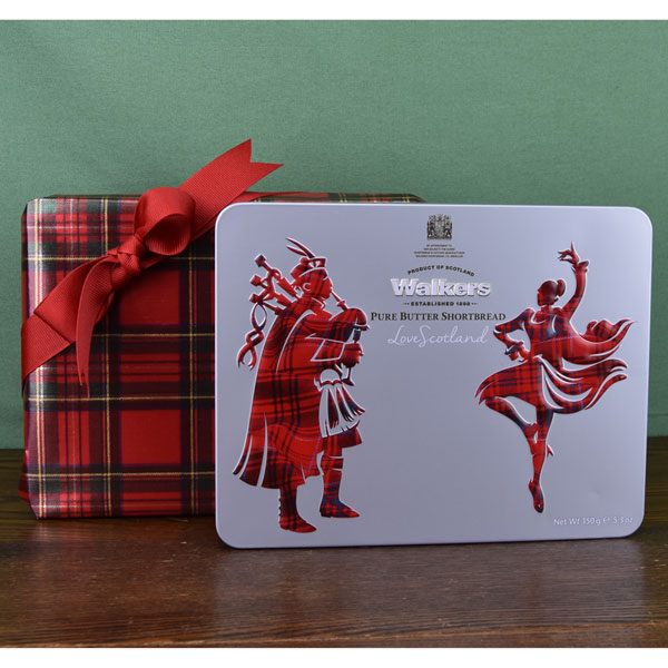 Giftwrapped Piper & Dancer Shortbread Tin