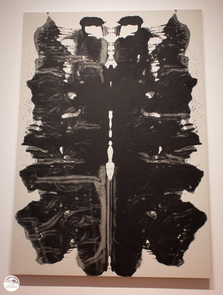 Andy Warhol Rorschach Seattle Art Museum