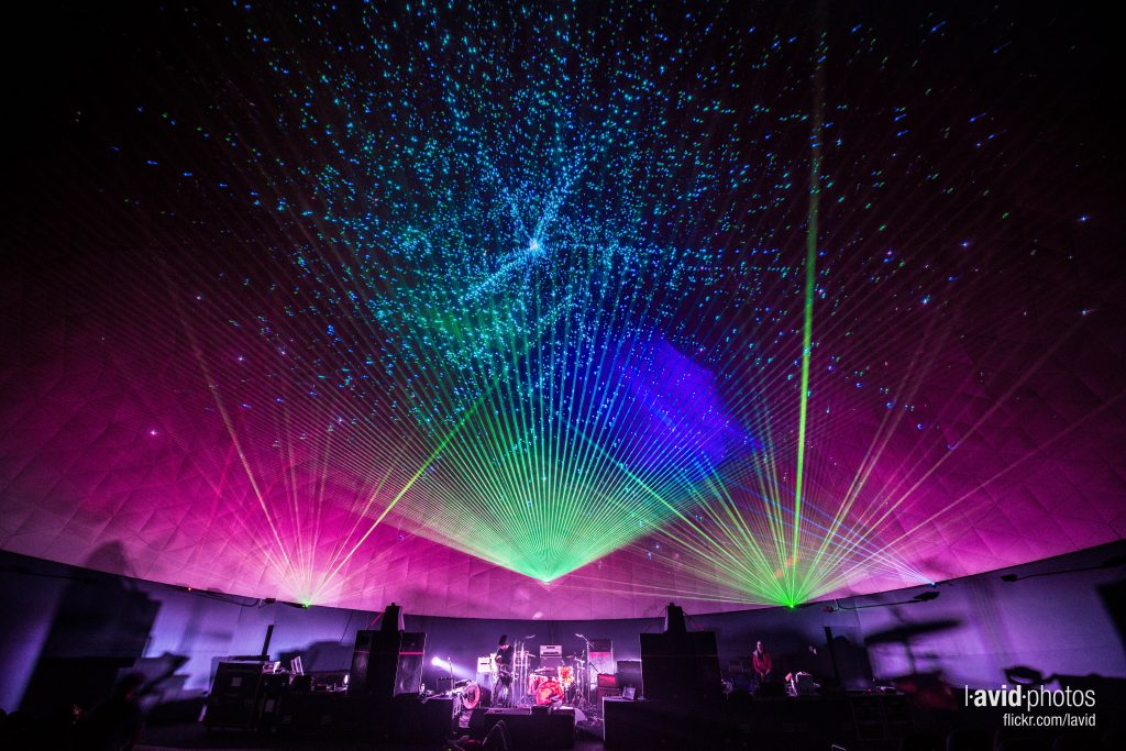 Laser Dome photo by Dave Lichterman