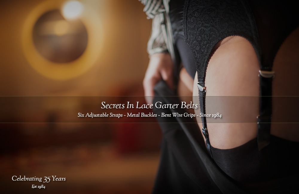Secrets In Lace Garter Belts