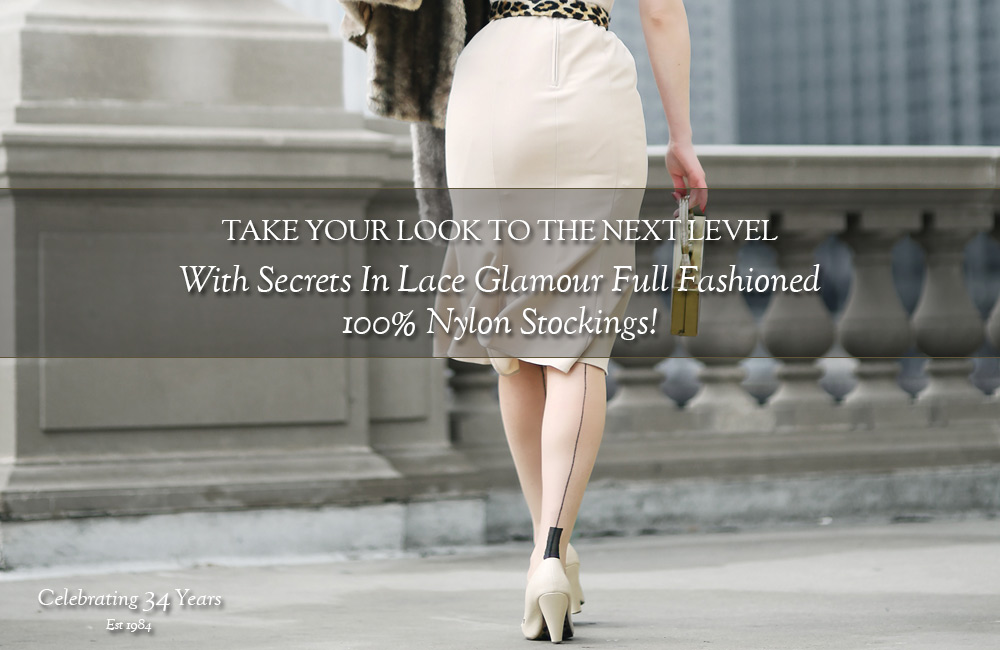 Secrets In Lace Full Fashioned Stockings