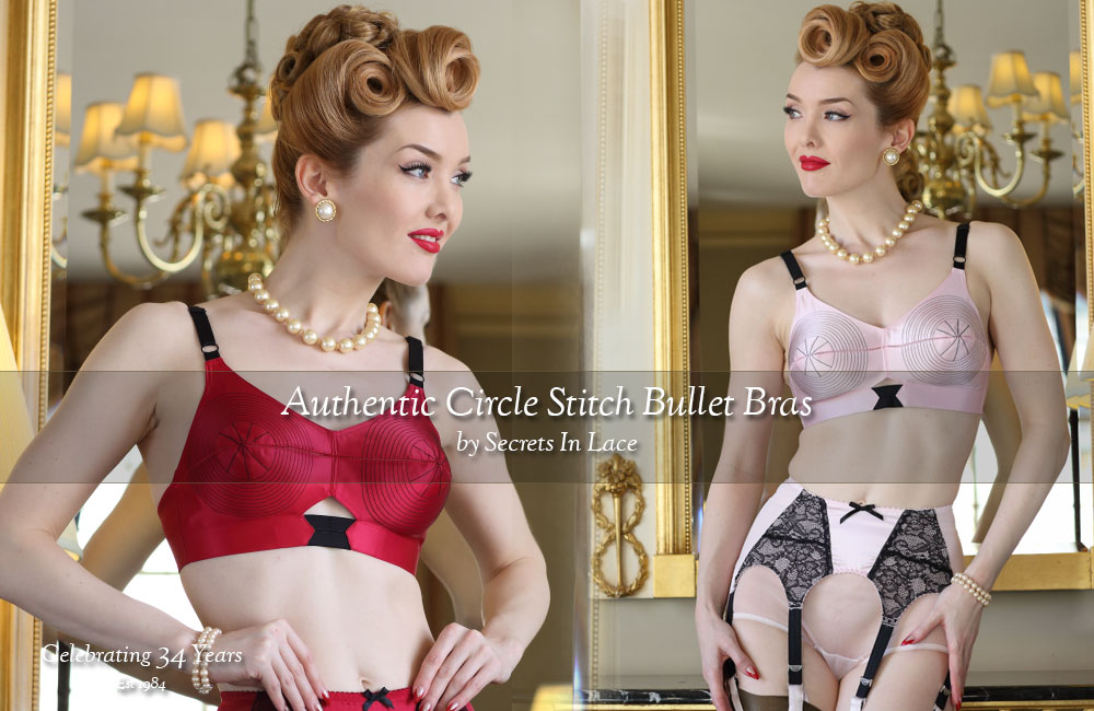 Bullet Bras by Secrets In Lace