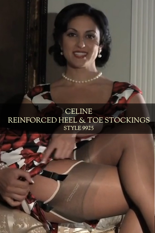 Celine Reinforced Heel & Toe Stocking