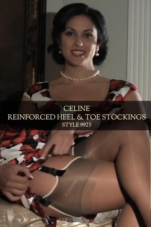 Celine Reinforced Heel & Toe Stocking